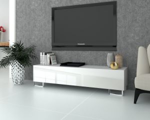 TV LOWBOARD SIMPLY SILVER
